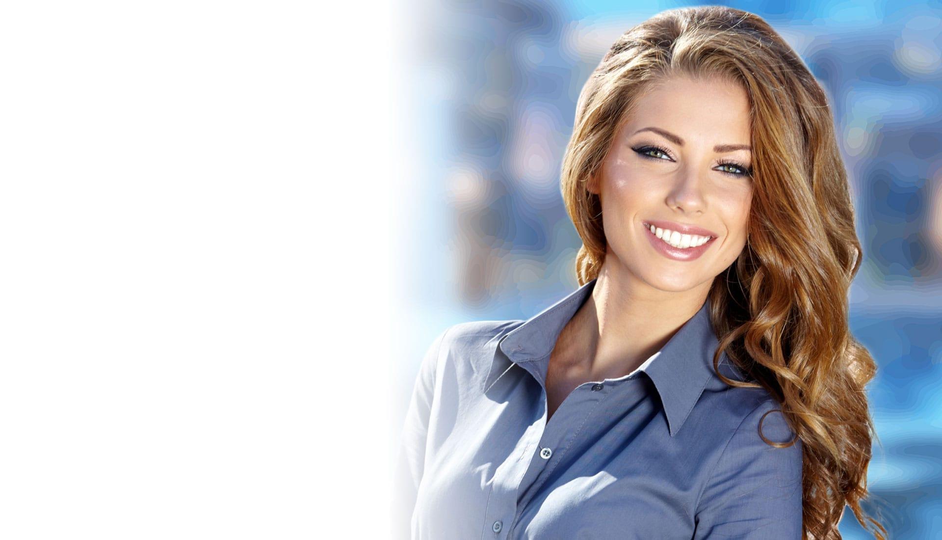 cosmetic dental patient